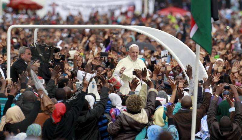 2015 papa francesco in africa