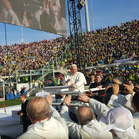 papa francesco a firenze